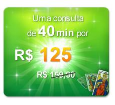 R$125 por 40 min de consulta