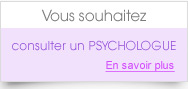 Trouver un psychologue